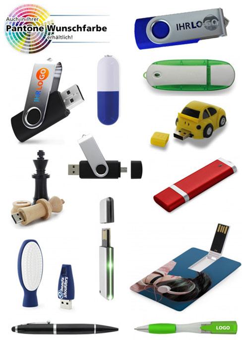 Bedruckte USB-Sticks | Variationsmöglichkeiten