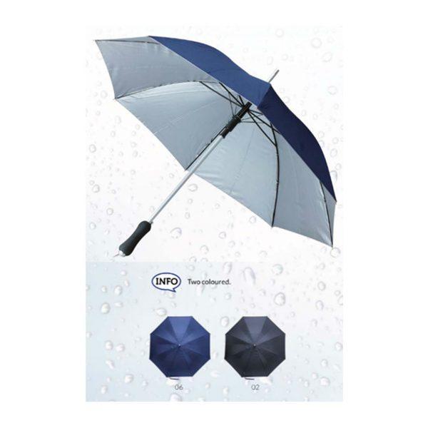 """Bedruckter Regenschirm """"DUO""""   Produktbild"""