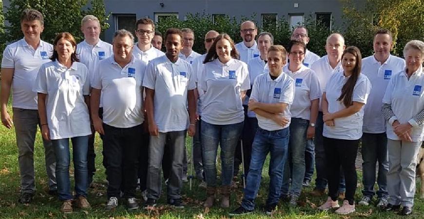 Gruppenbild - Betriebsfest MDG 2018