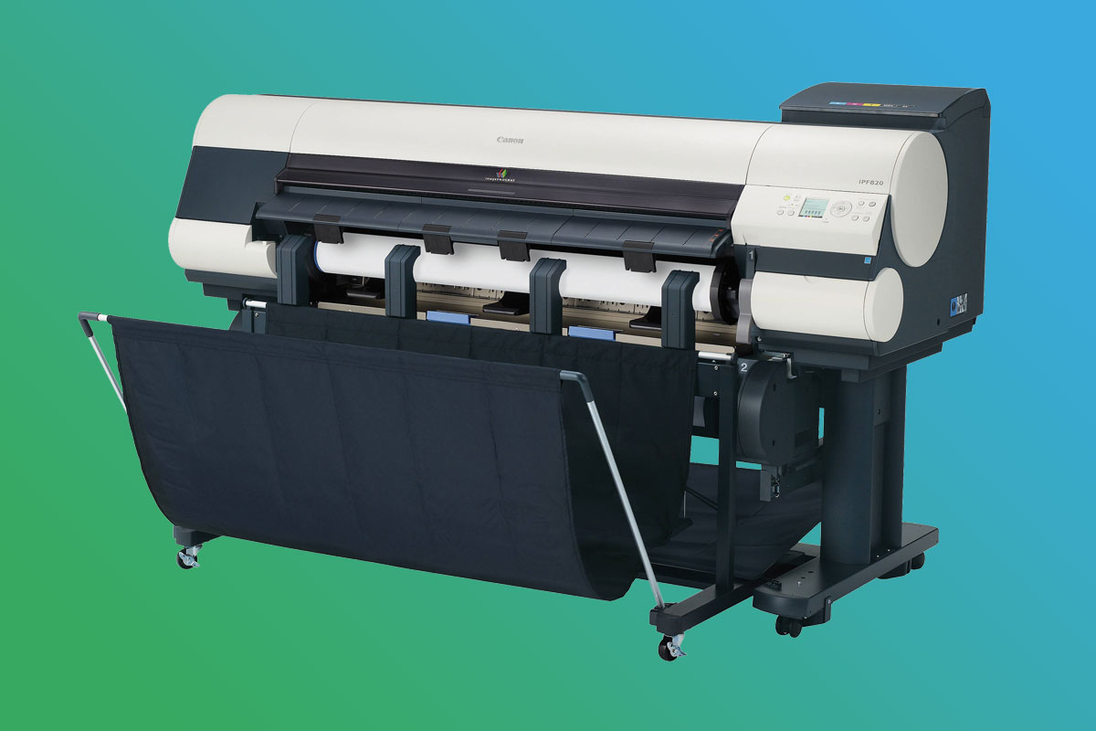Digitaldruckerei Maschinenpark - Canon ImagePROGRAF iPF820