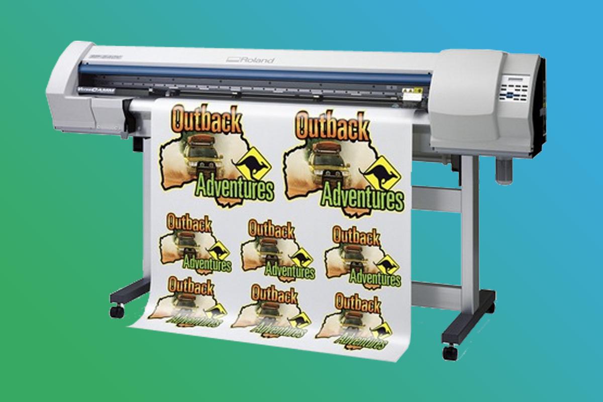 Digitaldruckerei Maschinenpark - Roland VersaCamm SP-540v