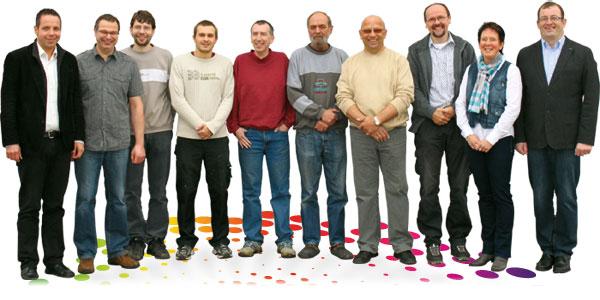 Druckerei MDG - Das Team unserer Druckerei