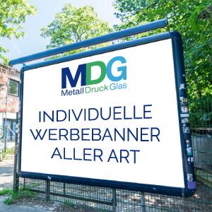 Druckerei MDG aus NRW | Produktbild Werbebanner