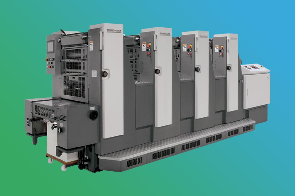 Offsetdruckerei Maschinenpark - Shinora 1052 Series