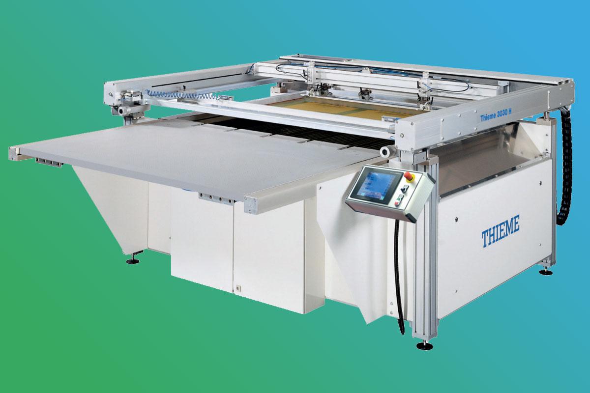 Siebdruckerei Maschinenpark - Thieme 3030